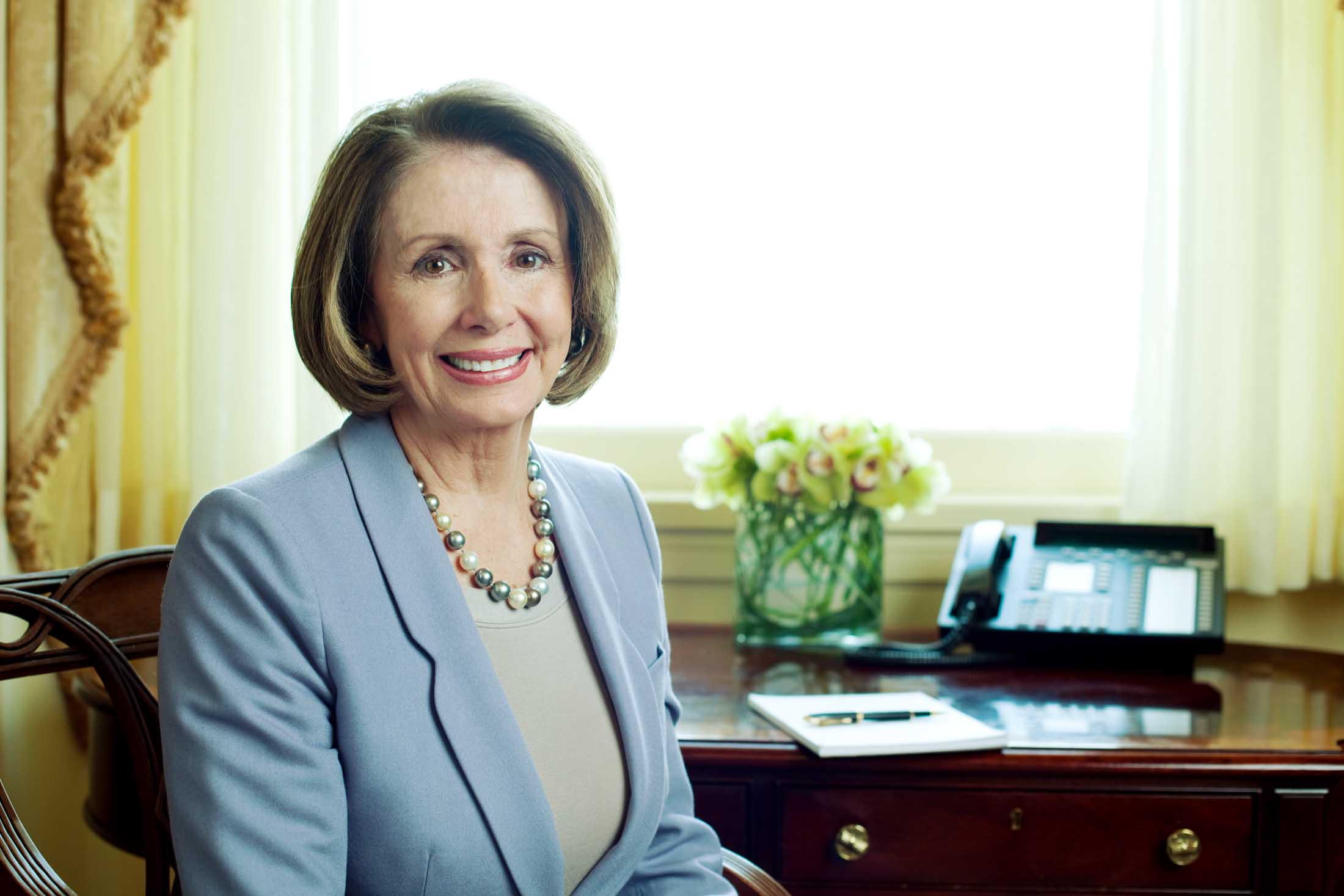 Nancy Pelosi - Washington Post Magazine